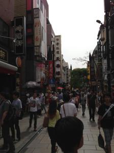 中華街をブラブラ