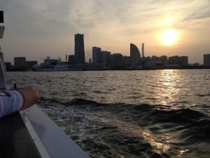 横浜サンセット on ナイスボート