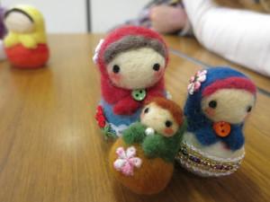 マトリョシカ人形?手作りらしいよ!