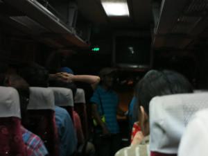 バスでサロベツ原野へ