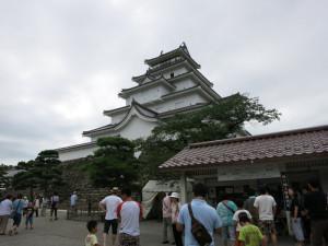 鶴ヶ城やで!