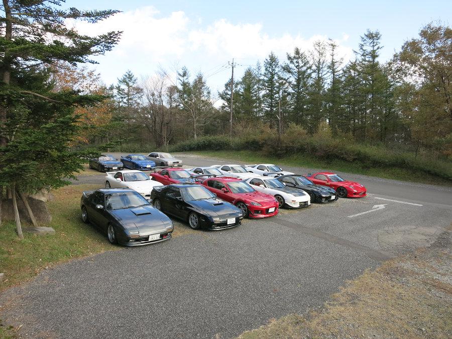 FD10台、FC2台、SE1台、ルーチェ1台の計14台!