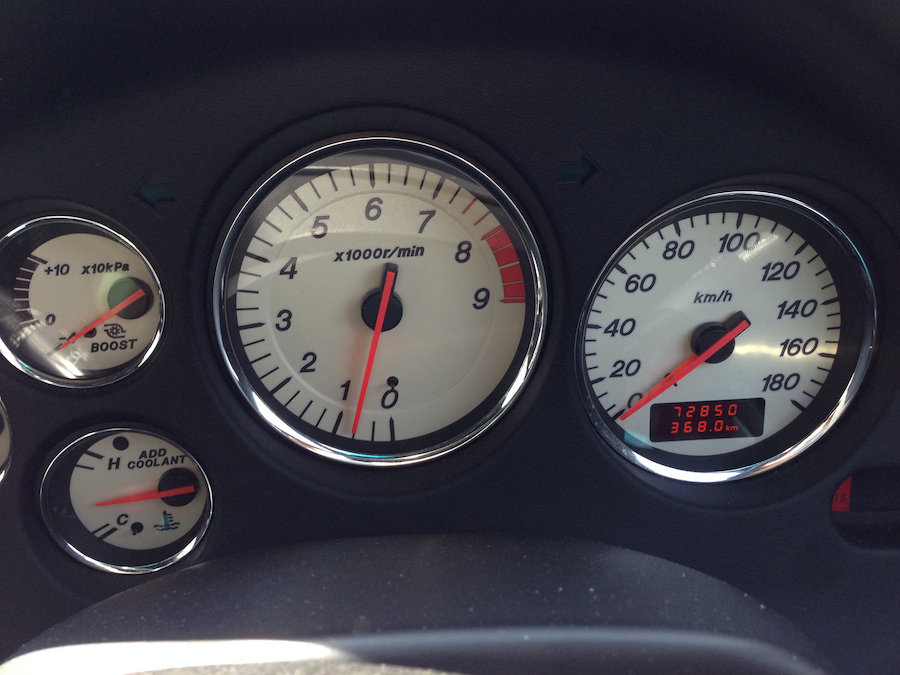 72850km走行