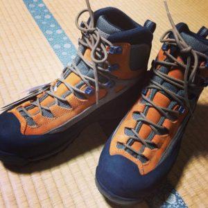 登山靴ゲット。