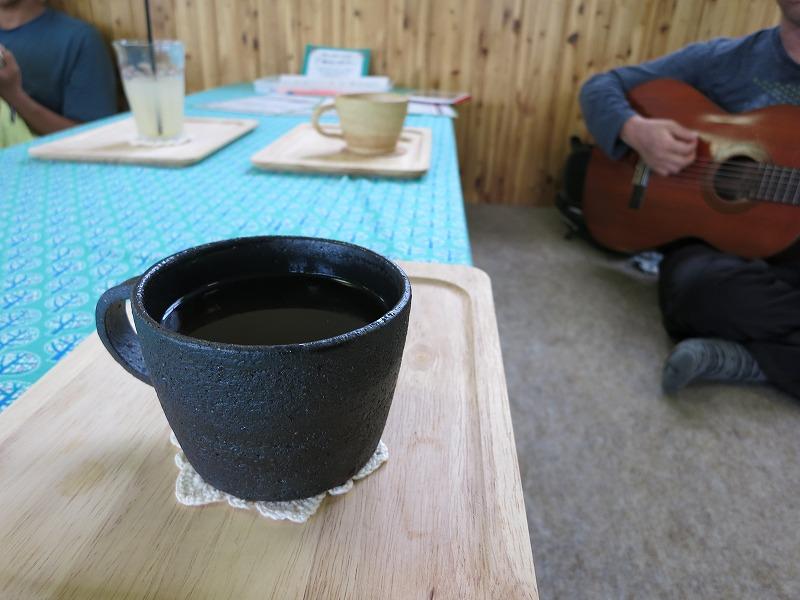 コーヒーでまったり。