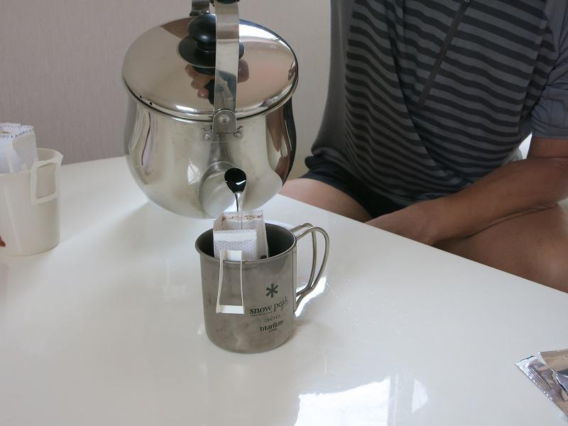 朝のコーヒータイム
