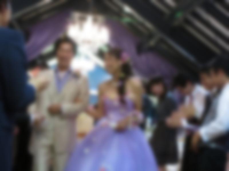 いい結婚式だったよ!