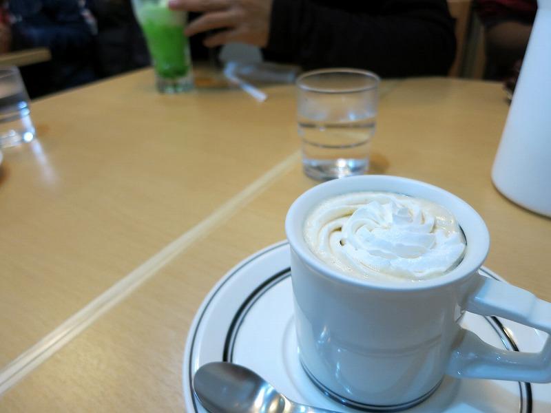 ウインナコーヒーなんておしゃんてぃーなモノをw