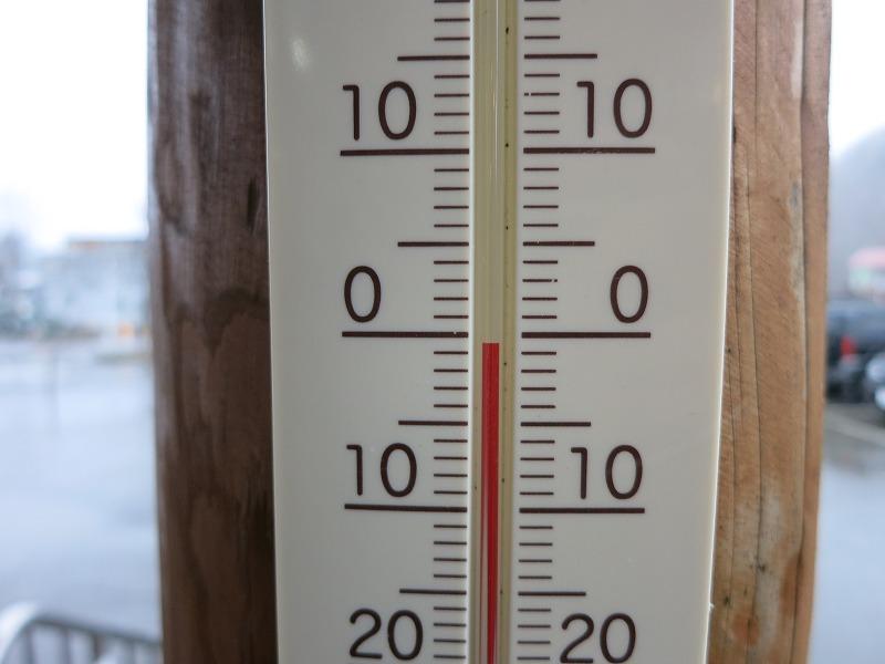気温は零度