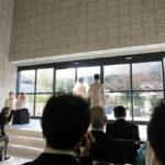 大学時代の友達の結婚式in品川