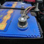 FD3Sバッテリー交換とバッテリーターミナル交換
